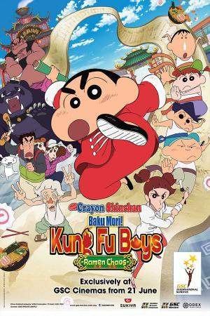 Shin Cậu Bé Bút Chì: Kung Fu Boy - Mì Ramen Đại Chiến