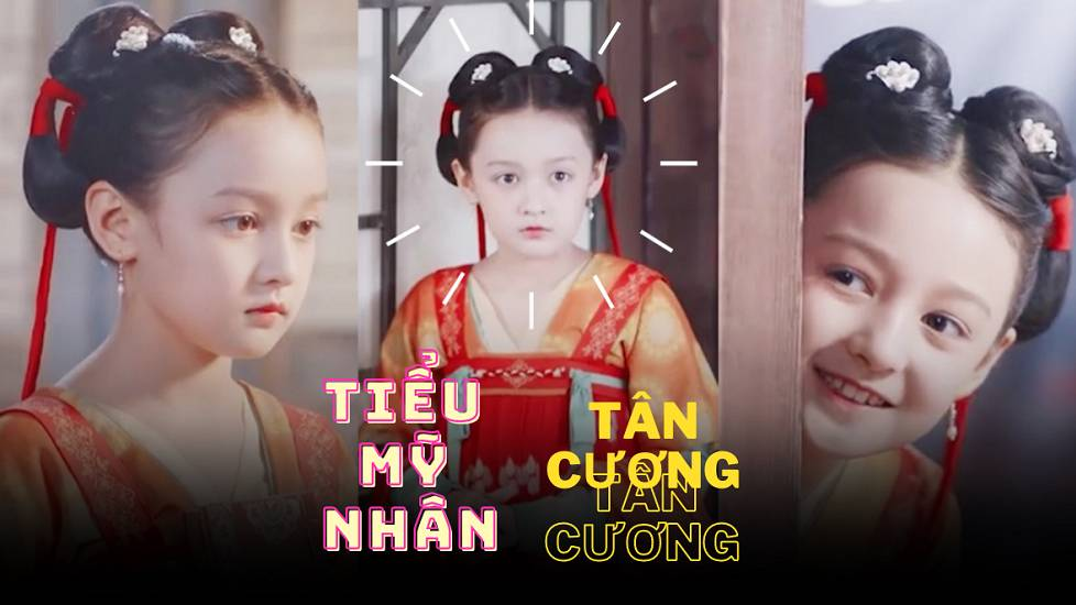 """""""Tiểu mỹ nhân Tân Cương"""" 10 tuổi gây bão mạng xã hội Trung Quốc"""