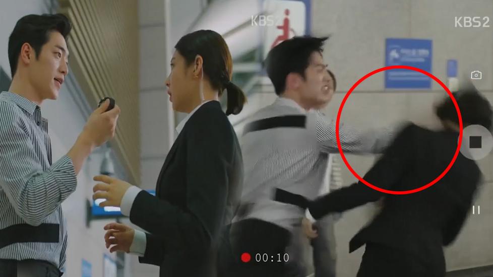 Mỹ nam Hàn gây phẫn nộ vì cảnh đánh phụ nữ quá bạo lực