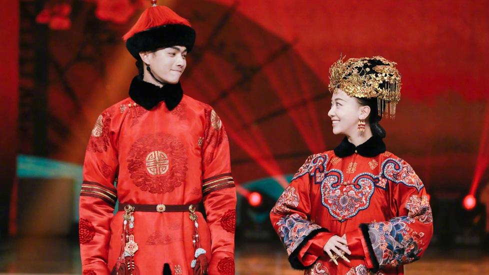Phó Hằng - Ngụy Anh Lạc cưới nhau trong show thực tế
