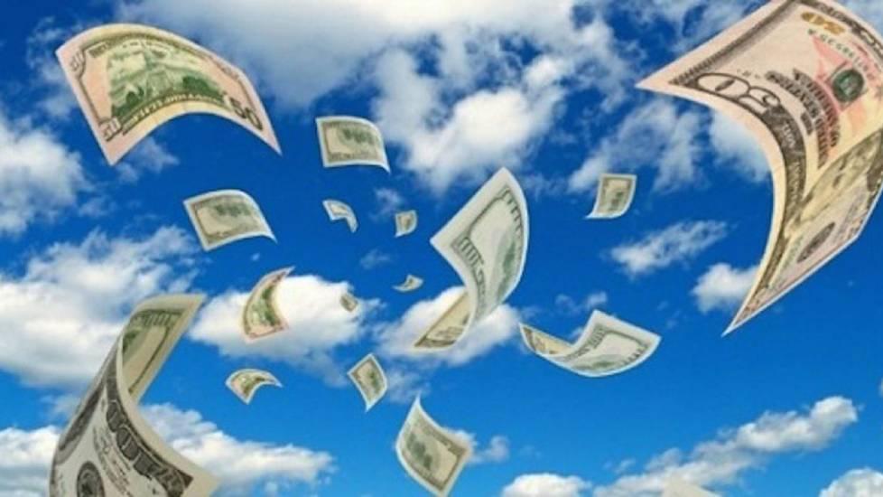 Cách làm tờ tiền bay lơ lửng trong không trung!!!