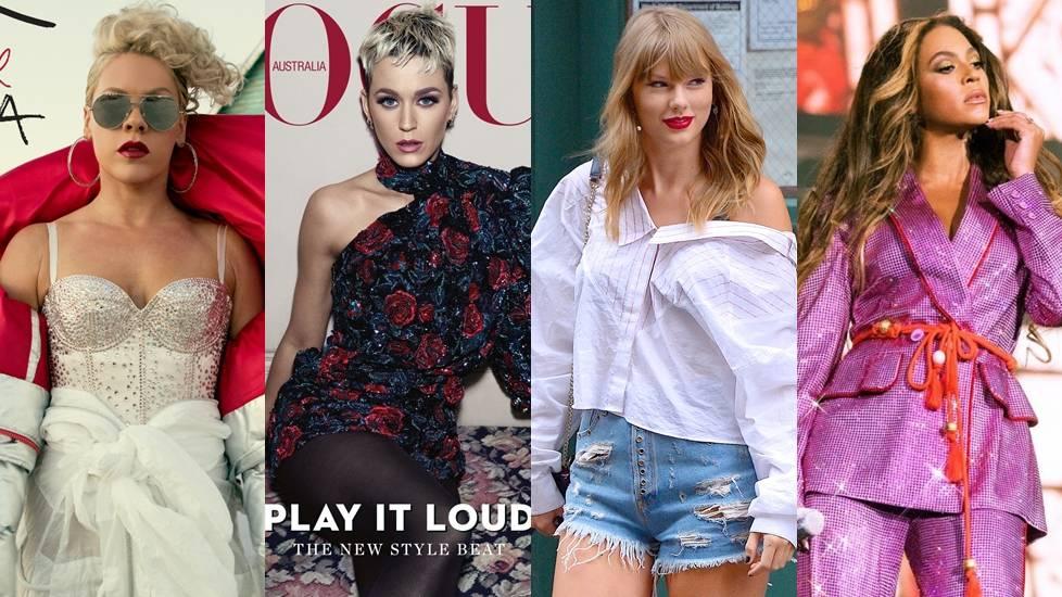 Top nữ ca sĩ kiếm nhiều tiền nhất 2018