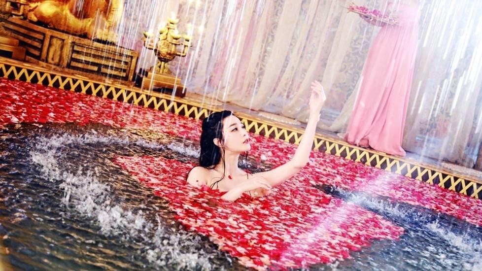 Cung tần mỹ nữ ngày xưa tắm bằng gì khi không có xà bông?