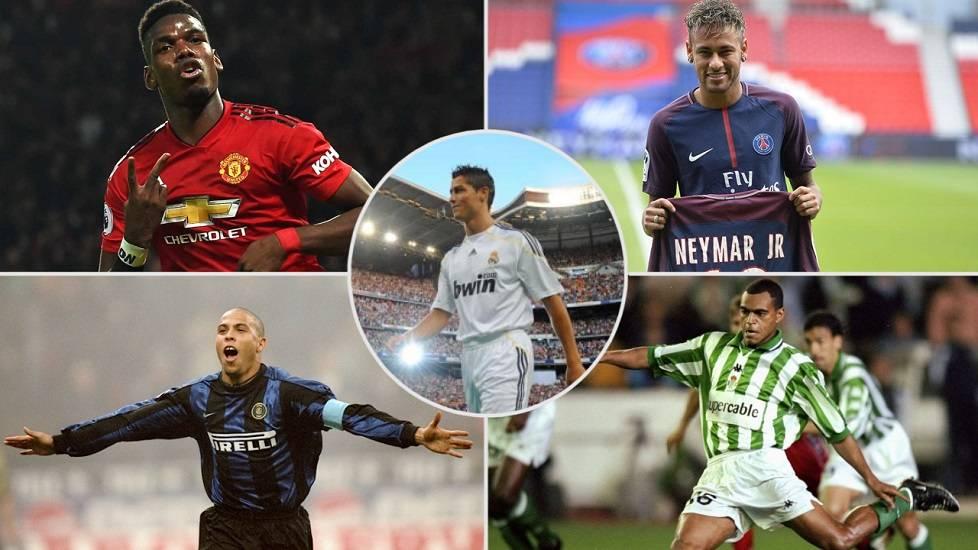 10 thương vụ chuyển nhượng làm đảo điên bóng đá thế giới
