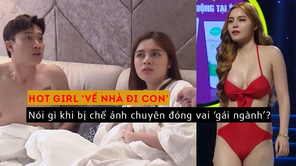 Bị chế ảnh chuyên đóng vai 'gái ngành', hot girl Cao Diệp Anh nói gì?