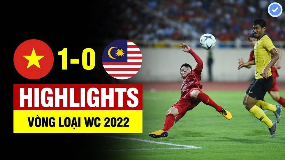 Việt Nam 1-0 Malaysia (Vòng loại World Cup 2022)