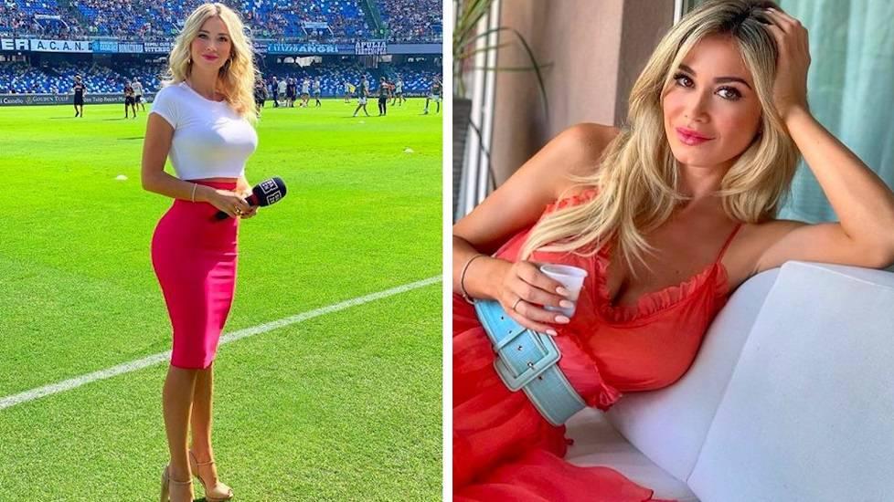 Nhan sắc nóng bỏng của nữ phóng viên bị fan đòi xem ngực