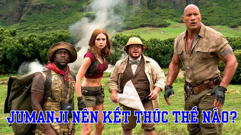 [Sub bựa] Jumanji: Welcome to the Jungle nên kết thúc thế nào?