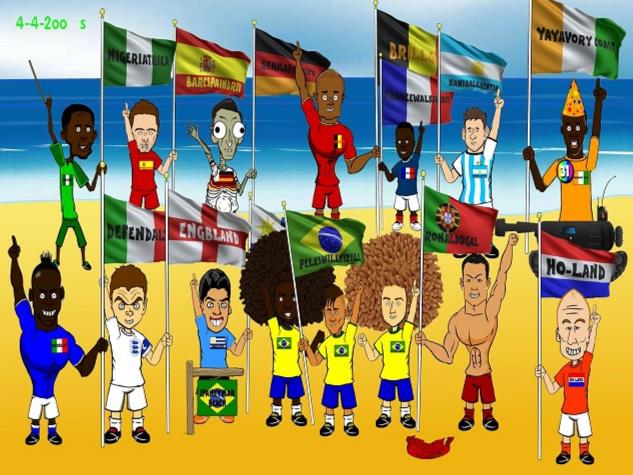 Ấn tượng World Cup 2014