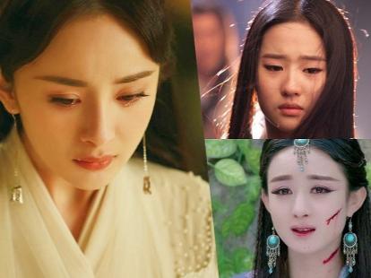 Những cảnh khóc 'xuất thần' của mỹ nhân Hoa Ngữ