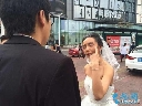 Cô dâu 9x bị bỏ rơi giữa phố vì hóa bà lão thử lòng chồng