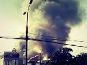 Nóng: Cháy dữ dội xưởng gỗ ở Hà Nội, cột khói bốc cao nghi ngút