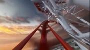 Thót tim nhào lộn cùng tàu lượn siêu tốc cao nhất thế giới