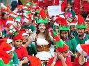 Gần 2.000 chú lùn Noel tụ hội tại Thái Lan