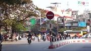 Cận cảnh giao lộ phân luồng 'quái đản' nhất Hà Nội