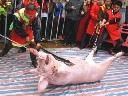 Thăm lễ hội chém lợn gây tranh cãi tại Bắc Ninh