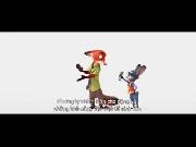 Chết cười với bộ đôi Sói và Thỏ trong 'Zootopia'