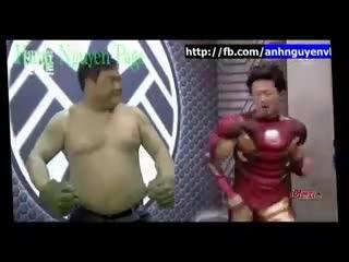 Biệt đội siêu anh hùng phiên bản lỗi