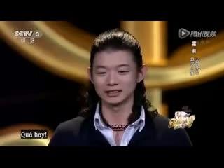 Không thể ''cưỡng'' được ca khúc khiến toàn dân Trung Quốc cảm động