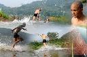 Nhà sư Thiếu Lâm Tự phá kỷ lục chạy trên mặt nước