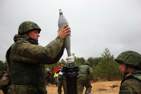 Xem súng cối hạng nặng của Nga hủy diệt mục tiêu