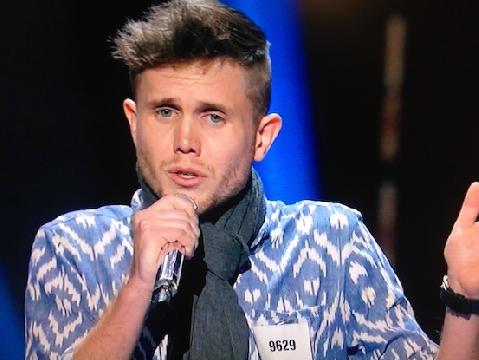 Biết bị bệnh vẫn hát, chàng trai lọt vòng trong American Idol