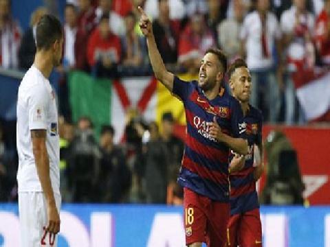 Barcelona 0-0 Sevilla (HP: 2-0, Chung kết cúp nhà Vua TBN 2015/16)