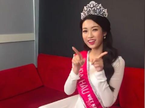 Hé lộ giọng hát của Hoa hậu Mỹ Linh khi live ''Mình yêu nhau đi''