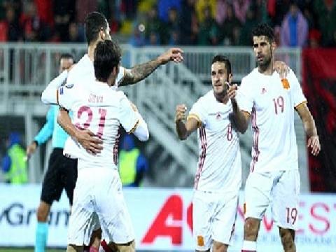 Albania 0-2 Tây Ban Nha (Bảng G - Vòng loại World Cup 2018)