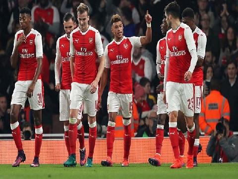 Arsenal 2-0 Reading (Vòng 4 League Cup)