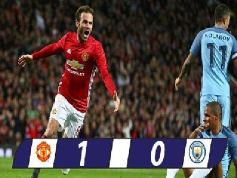 M.U 1-0 Man City (Vòng 1/8 cúp Liên đoàn Anh 2016/17)