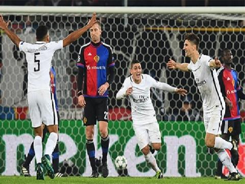 Basel 1-2 PSG (Bảng A - Champions League 2016/17)