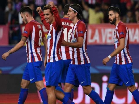 Atletico Madrid 2-1 Rostov (Bảng D - Champions League 2016/17)