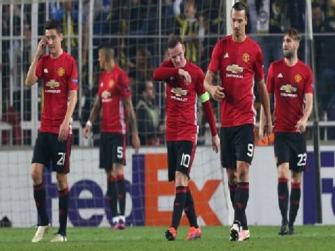 Fenerbahce 2-1 M.U (Bảng A - Europa League 2016/17)