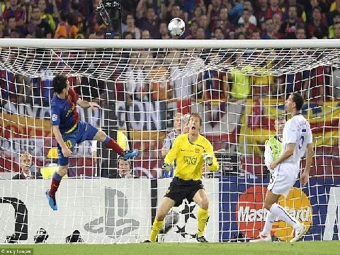 17 bàn thắng của Messi vào lưới các CLB Anh tại Champions League