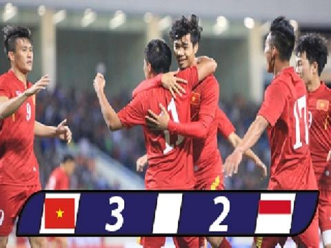 Việt Nam 3-2 Indonesia (Giao hữu 2016)