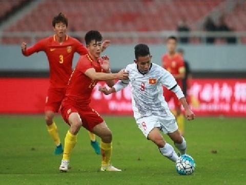 U22 Trung Quốc 1-1 U22 Việt Nam (Cúp Tứ hùng Vũ Hán 2016)