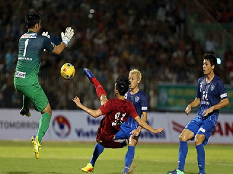 ĐT Việt Nam 0-0 Avispa Fukuoka (Giao hữu 2016)