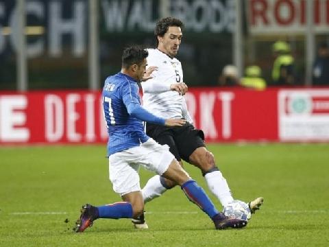 Italia 0-0 Đức (Giao hữu quốc tế 2016)