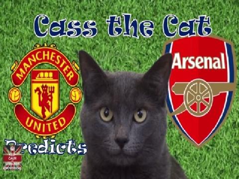 Mèo Cass dự đoán trận M.U - Arsenal