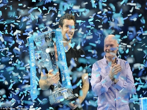 Andy Murray 2-0 Novak Djokovic (Chung kết ATP World Tour Finals 2016)