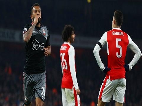 Arsenal 0-2 Southampton (Cup Liên Đoàn Anh)