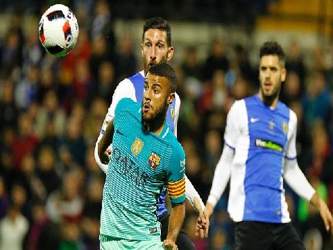 Hercules 1-1 Barcelona (Cup Nhà Vua Tây Ban Nha)