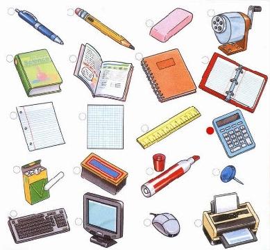 Lập thời khóa biểu đồ dùng học tập