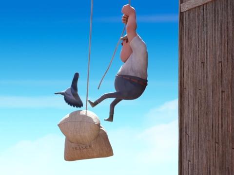 Hoạt hình vui nhộn: Con chim 'mất dạy'