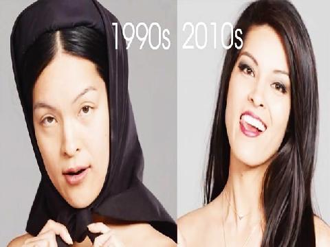 Nhan sắc chị em Việt thay đổi thế nào trong 100 năm qua?