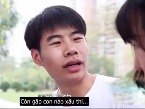 [Hài Trung Quốc] Nói 1 câu là chạy mất dép