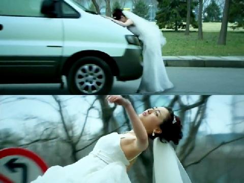 Chết cười với cảnh tai nạn 'làm quá' trên màn ảnh Hoa ngữ