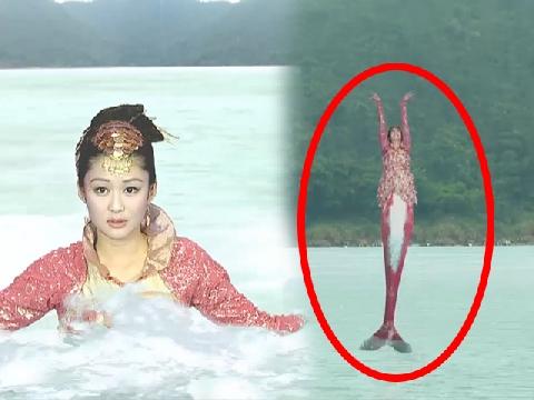 TVB khiến fan 'cười ngất' với cảnh Nàng tiên cá nhào lộn