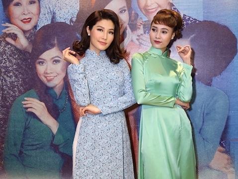 Ninh Dương Lan Ngọc hóa quý cô Sài Gòn xưa, đọ sắc với Diễm My 9x